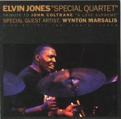 "Elvin Jones ""Special Quartet"" featuring Wynton Marsalis"