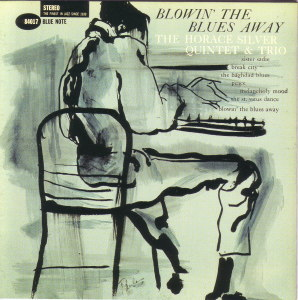 BLOWIN' THE BLUES AWAY - HORACE SILVER  Blue Note BST-84017