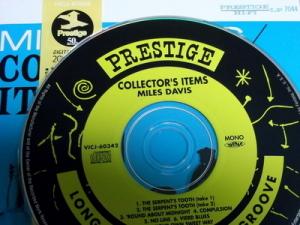 初期のマイルス・デイビスも、プレステッジに沢山の録音を残しています。